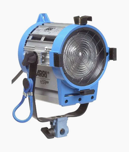 Arri 650w Fresnel For Rent At Film Equipment Hire Ireland