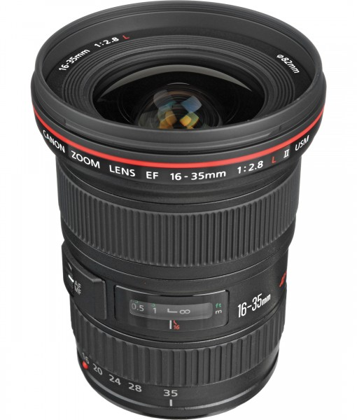 Canon EF 16-35 mm f/2.8L II USM for rent at Film Equipment hire