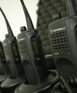 Motorola GP320 Walkie Talkies