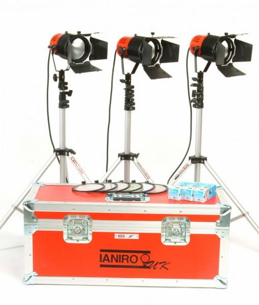 Ianario Redhead 800w Kit of three to rent