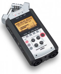 Zoom H4n Handy Recorder for rent at Film Equipment Hire