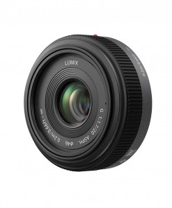 Panasonic Lumix G 20mm f/1.7 for rent at Film Equipment Hire