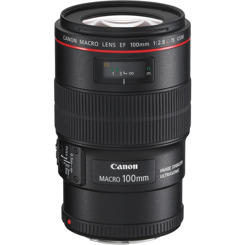 Canon EF 100mm f/2.8L Macro IS USM Lens  for rent at film equipment hire