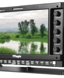 "7"" TVLogic LVM-074W monitor for rent at Film Equipment Hire"