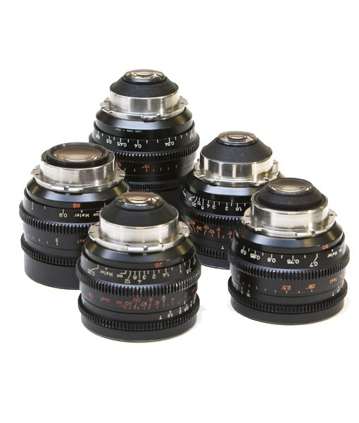 ZEISS STANDARD PRIME LENSES SET T2.1 for rent at film equipment hire