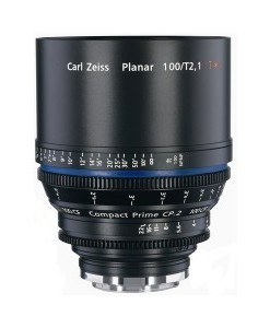 Zeiss Compact Prime CP.2 100mm/T2.1 Macro Cine Lens for rent at Film Equipment Hire