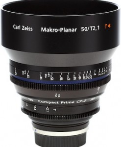 Zeiss Compact Prime CP.2 50mm/T2.1 Makro Cine Lens for rent at Film Equipment Hire