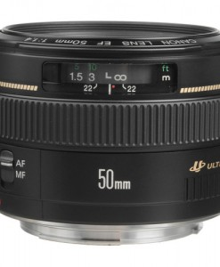 Canon EF 50mm f/1.4 USM Lens for rent at Film Equipment Hire