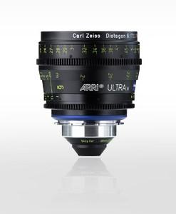 Arri Ultra 16 Prime Lenses for rent at Film Equipment Hire