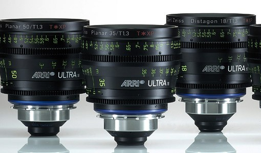 Arri Ultra 16 Prime Lenses for rent at Film Equipment Hire