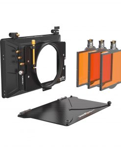 Bright Tangerine Misfit Mattebox for rent at Film Equipment Hire