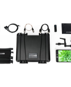 "The MON-702L 702 Lite HD-SDI/HDMI 7"" Monitor Kit from SmallHD includes the 702 Lite on-camera monitor with SDI/HDMI cross conversion, a hard case for storage and transport, and a remote controller for wireless monitor control. It also includes a StrongArm 7 articulating arm, a sun hood, cleaning cloth, and an acrylic screen protector. Additionally, the kit comes with both HDMI and SDI cables, and an LP-E6 to D-Tap adapter."