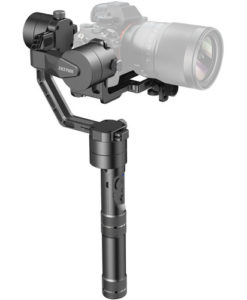 Zhiyun-Tech Crane v2 3-Axis Handheld Gimbal Stabilizer with Remote Focus for rent at Film Equipment Hire