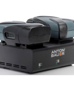 Anton Bauer Digital V90 VLock Kit x 2 + LP2 Charger to rent at Film Equipment Hire