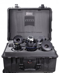 Zeiss CP2 Primes for rent at Film Equipment Hire