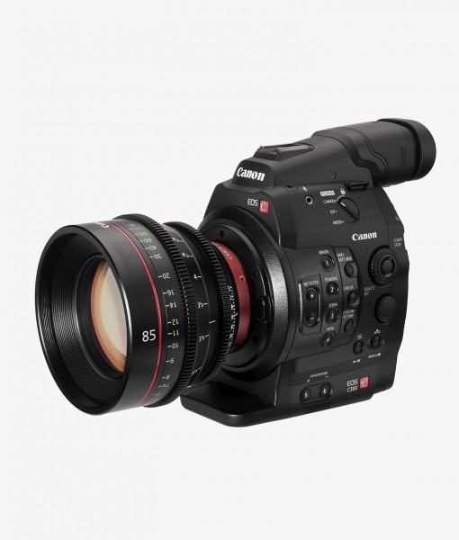 Canon C300 for rent at Film Equipment Hire Ireland