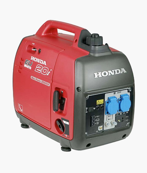 Super Honda EU20i Inverter Generator for hire - Film Equipment Hire Ireland GF07