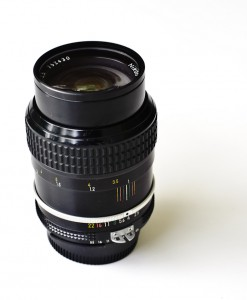 Nikon 105mm F2.5 for rent at Film Equipment Hire Ireland