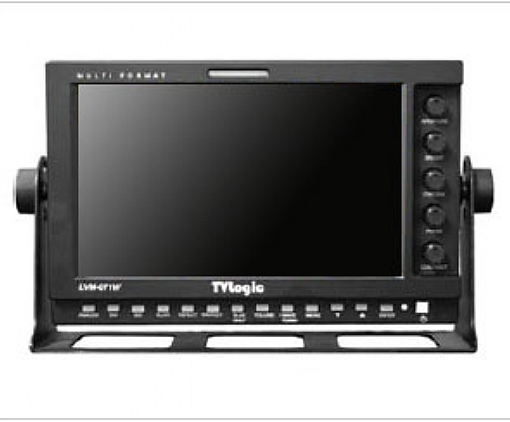 """7"""" TVLogic LVM-074W monitor for rent at Film Equipment Hire"""