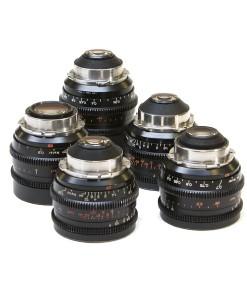 ZEISS STANDARD PRIME LENSES SET T2.1 for rent at film equipment hire