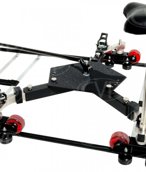 Indie-Dolly - Universal Dolly with 4m Straight Track for rent at Film Equipment Hire