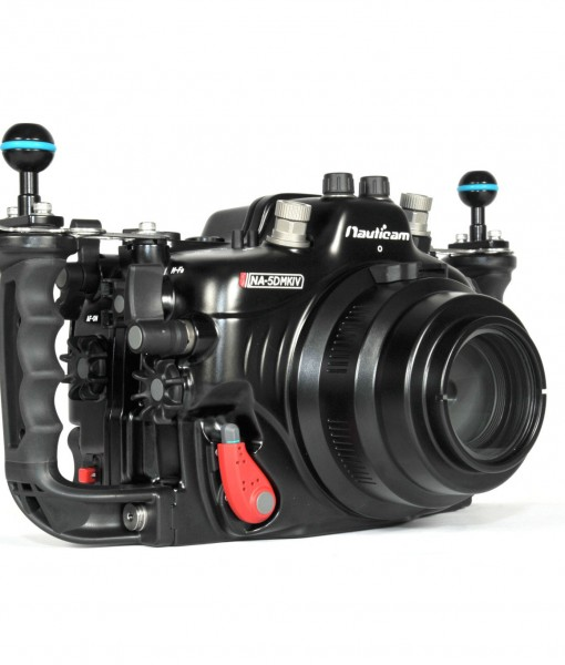 Nauticam NA-5DMKIV Underwater Housing for Canon EOS 5D Mark IV for rent at Film Equipment Hire