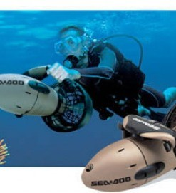 Seadoo Diver Propulsion Scooters for rent at Film Equipment Hire