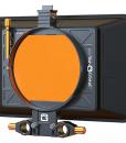 Bright Tangerine Misfit Atom for rent at Film Equipment Hire