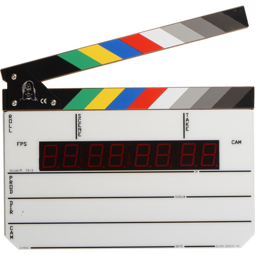 Denecke TS-3 Time Code Slate for rent at Film Equipment Hire