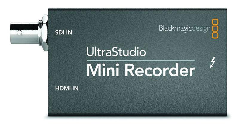 Blackmagic Design Ultrastudio Mini Recorder For Rent At Film Equipment Hire Film Equipment Hire Ireland