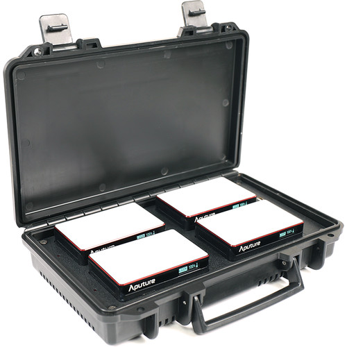 Aputure MC 4-Light Travel Kit for rent at Film Equipment Hire