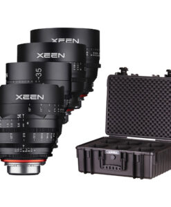 Rokinon Xeen- E Mount Full Frame - Cine T1.5 Lens Kit for rent at Film Equipment Hire