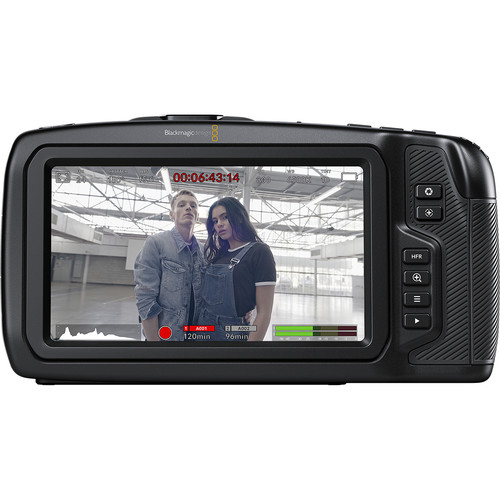 Blackmagic Design Pocket Cinema Camera 6K for rent at Film Equipment Hire