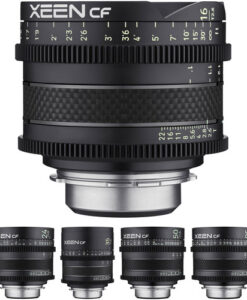 Rokinon XEEN CF Pro 5-Lens EF-Mount Cine Lens Kit for rent at Film Equipment Hire