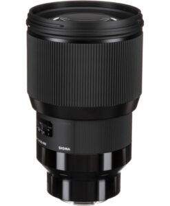Sigma 85mm f/1.4 DG HSM Art Lens Sony E Mount for rent at Film Equipment Hire