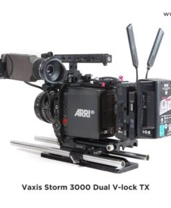 Vaxis Storm 3000 Transmitter (Dual V-Mount) for rent at Film Equipment Hire