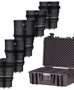 Samyang Full Frame Cine Lens Kit- Sony E-Mount for rent at Film Equipment Hire