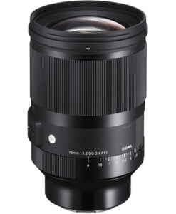 Sigma 35mm f/1.2 DG DN Art Lens for Sony E for rent at Film Equipment Hire